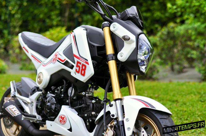A vendre : Honda MSX modèle 2014 - mini4temps.fr