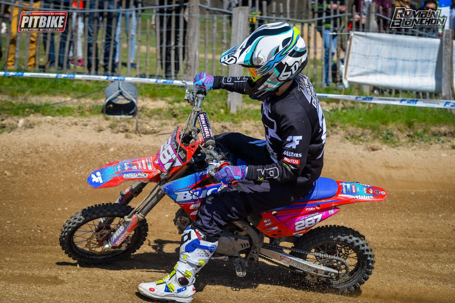 Championnat de France de Pitbike - WKX Racing et Mini4temps.fr