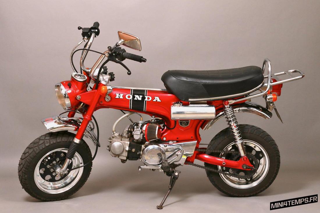 Le Honda Dax 6V de 1974 de Art Naow - mini4temps.fr