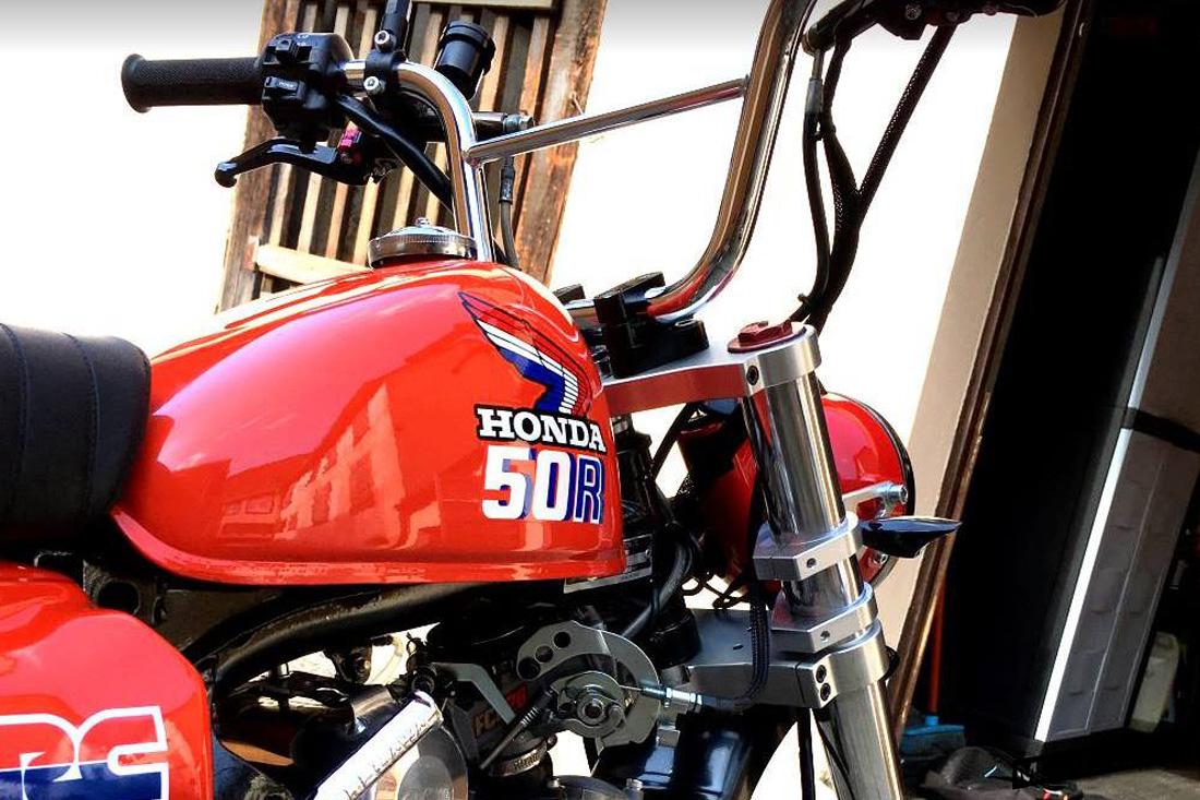 Le Honda Monkey Z50R Scrambler de Marco88 - mini4temps.fr