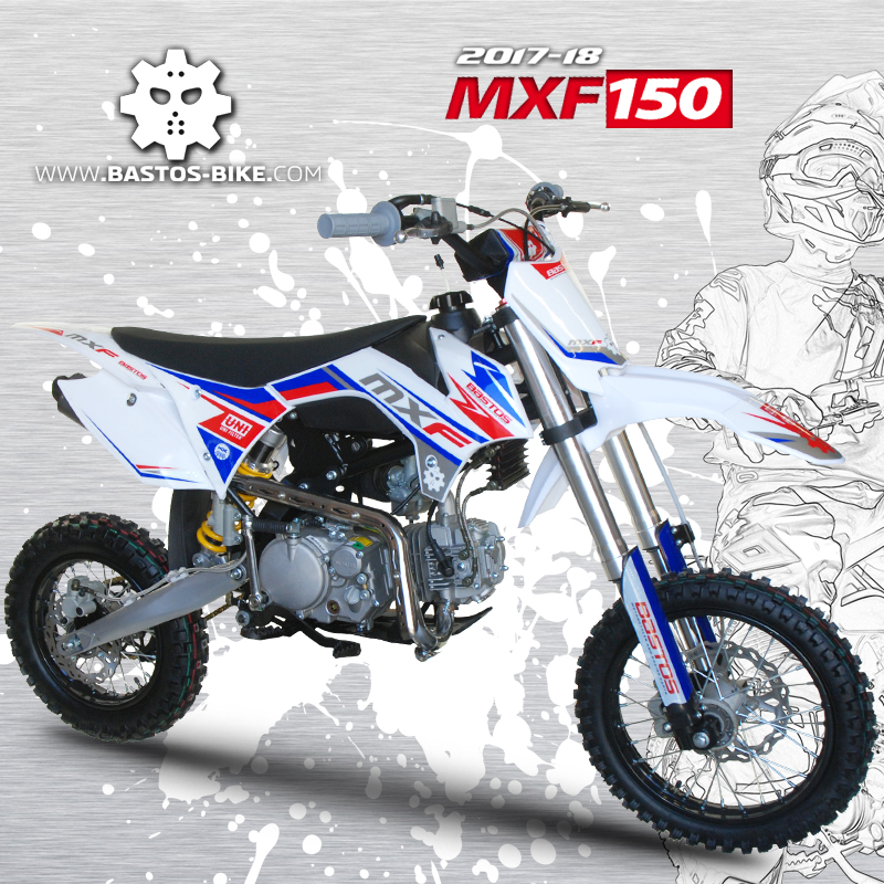 Pitbike MXF150 de Bastos Bike - WKX Racing et mini4temps.fr