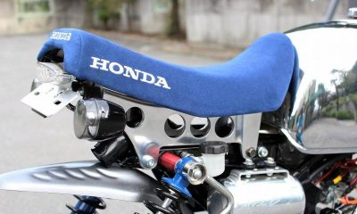 Support de selle Honda QR Minimoto - mini4Temps.fr
