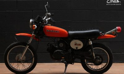 Suzuki Mini Cro 1975 by Galb Motorworks
