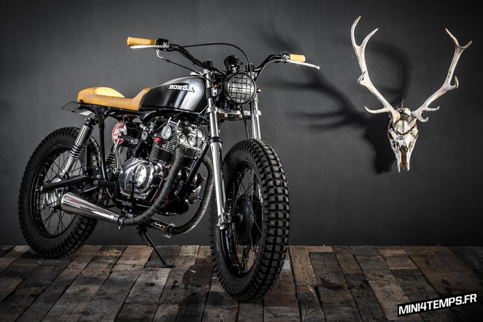 La Honda CB 125 K5 de Ed Turner Motorcycles - mini4temps.fr