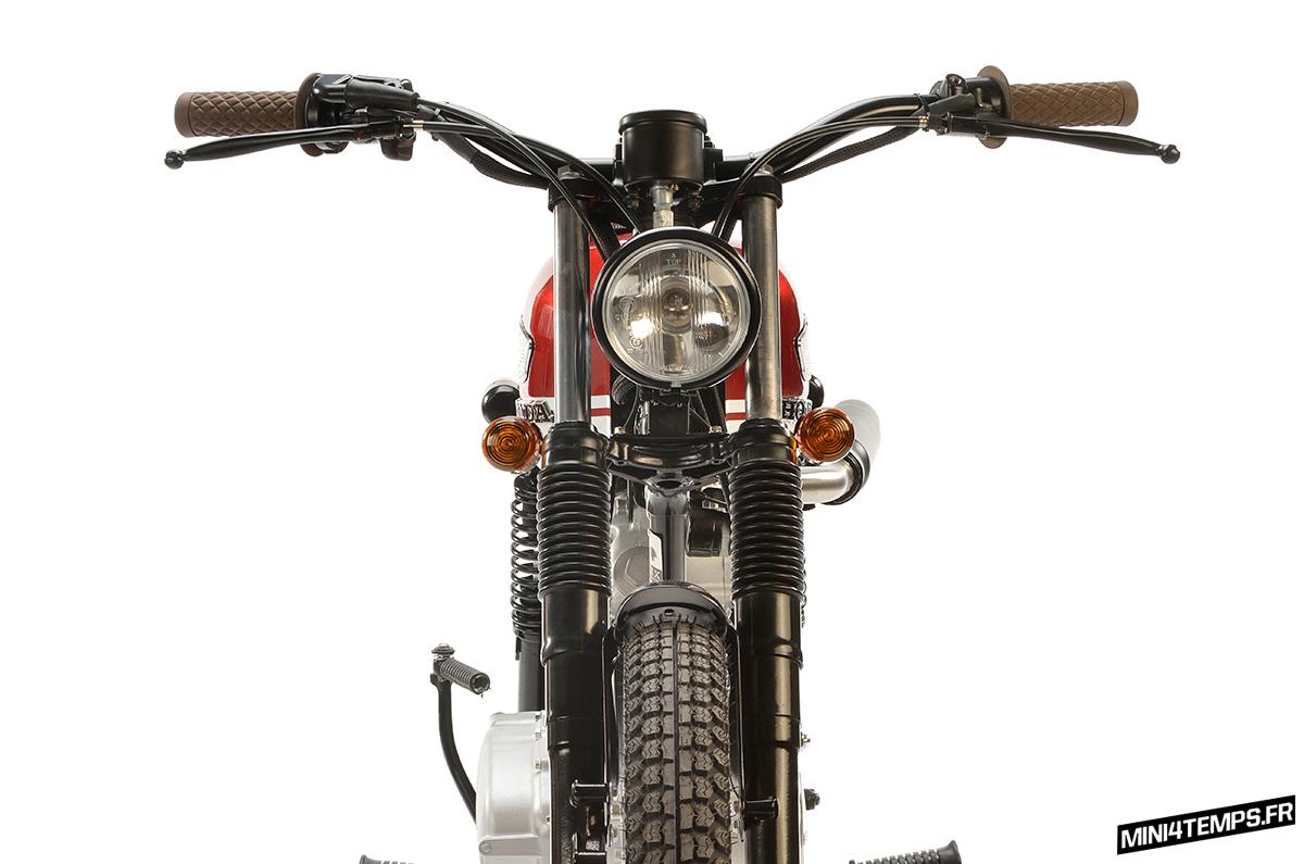 La Honda CB125 Felix du Garage de Felix - mini4temps.fr