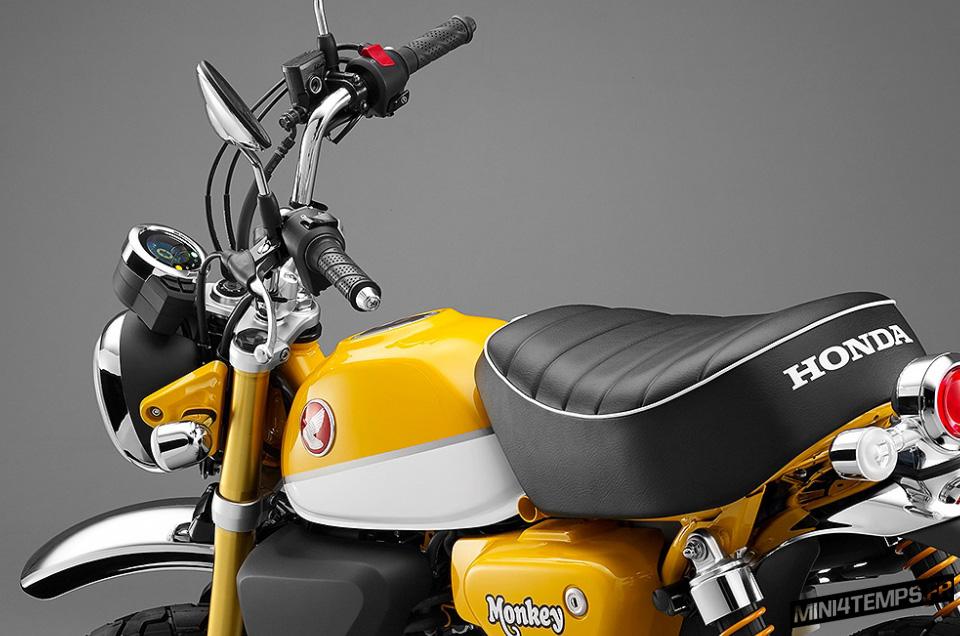 Honda Monkey 125 Tokyo Motor Show 2017 - mini4temps.fr