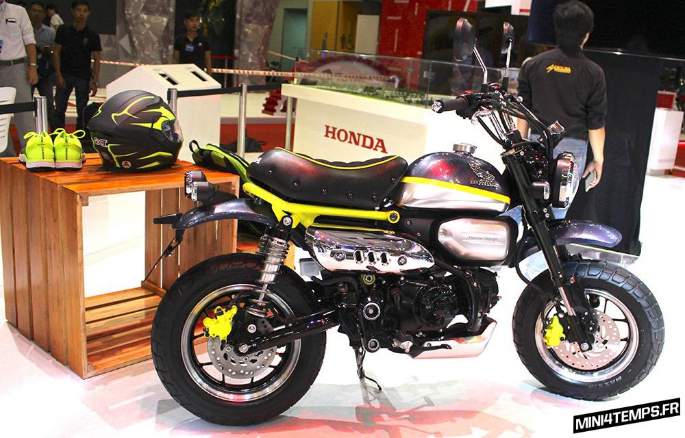 Honda Monkey 125 : déjà deux concepts bikes ! - mini4temps.fr