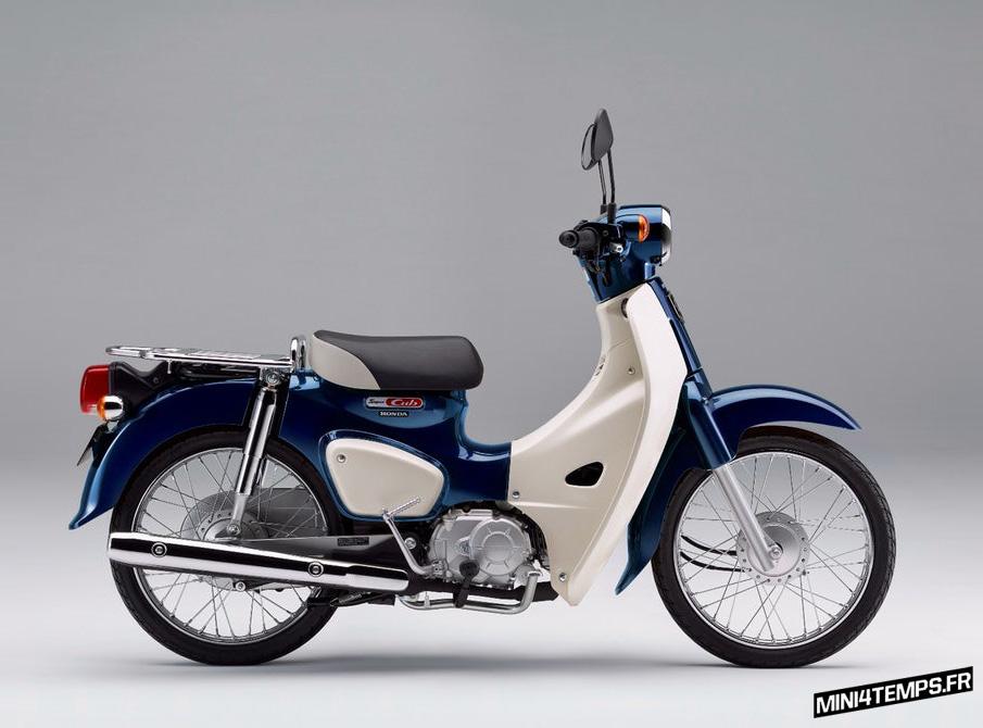 Un Super Cub C100 pour fêter les 60 ans du Cub - mini4temps.fr