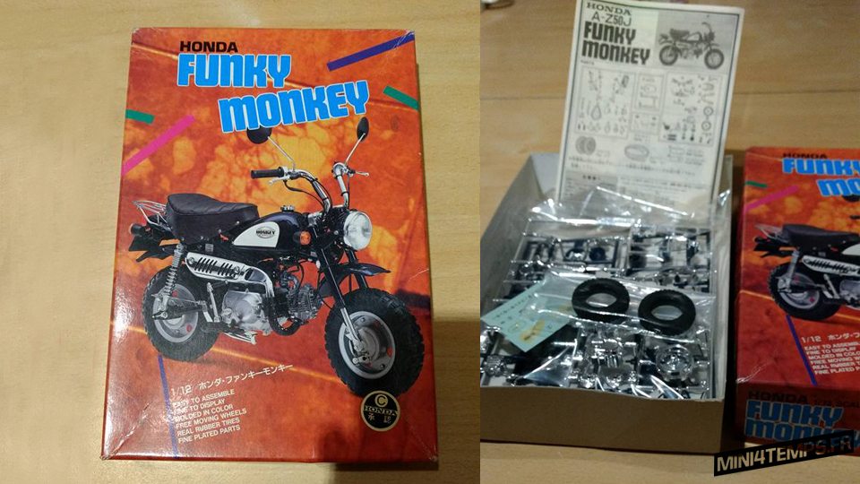 Maquette IMAI 1/12 Honda Funky Monkey - mini4temps.fr