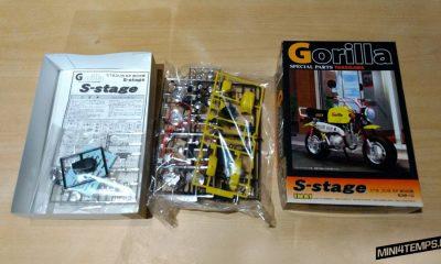 Maquette Imai 1/12 Honda Gorilla S-Stage spécial parts Takegawa - mini4temps.fr