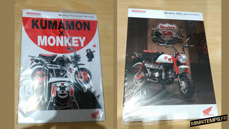 Brochure Honda Monkey Kumamon & Monkey 50th Anniversary Special - mini4temps.fr