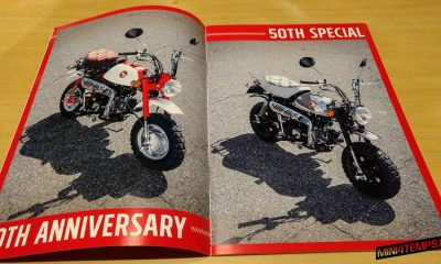Honda MONKEY 50th spécial brochure - mini4temps.fr