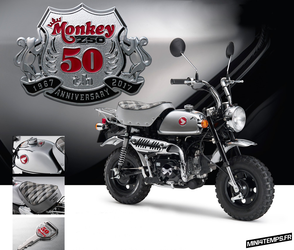 Honda Monkey 50th Special 2017 - mini4temps.fr