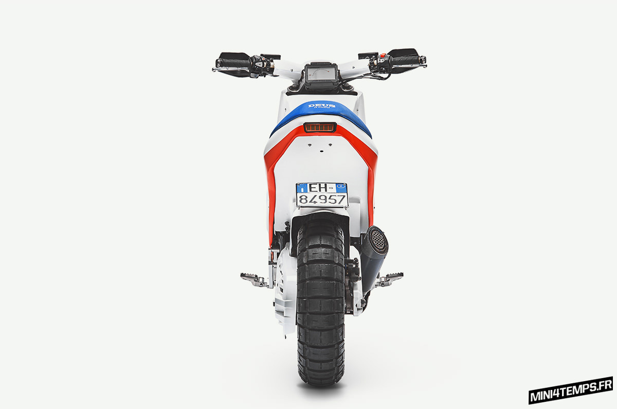 EZ Rider : un hommage au Cub EZ90 avec un X-ADV - mini4temps.fr