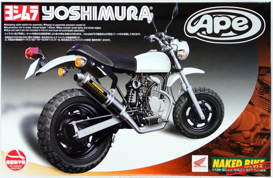 Maquette Aoshima Honda Ape - mini4temps.fr