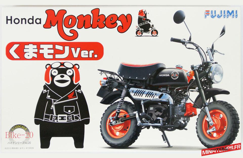 Maquette Fujimi Honda Monkey Kumamon - mini4temps.fr