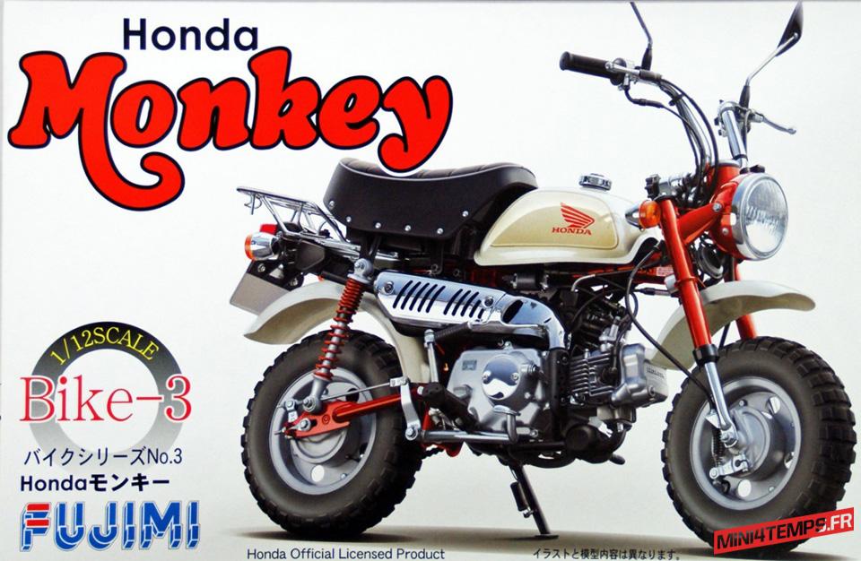 Maquette Fujimi Honda Monkey - mini4temps.fr