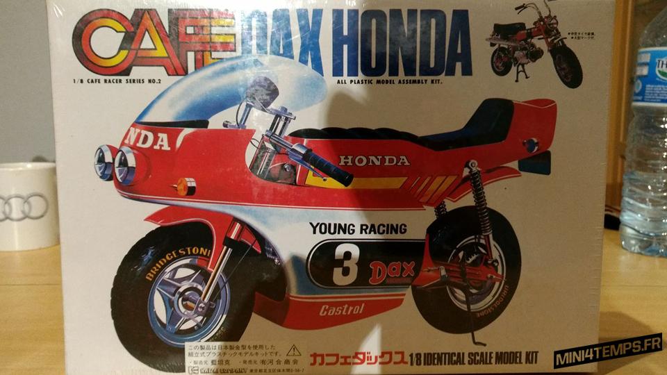 Maquette Imai 1/12 Honda Dax Café Racer - mini4temps.fr