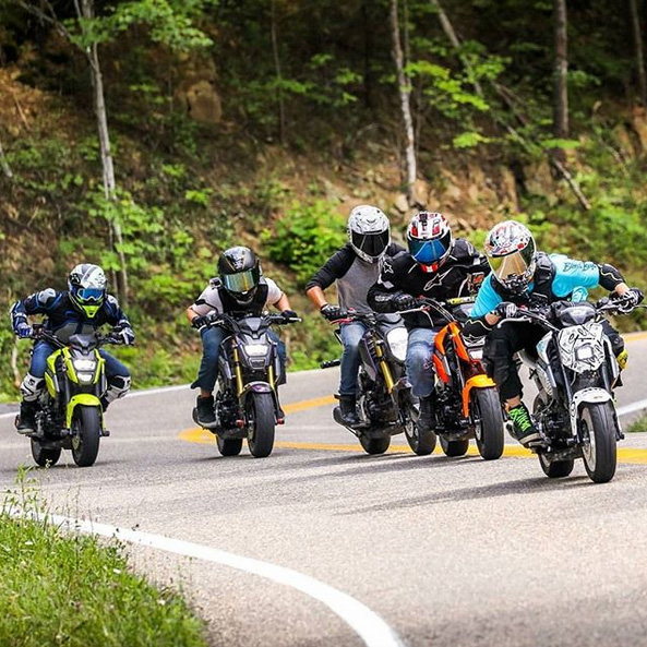 Honda Grom Society sur Instagram - mini4temps.fr