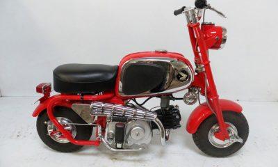 Le Honda CZ100 de 1964 de Jrure - mini4temps.fr