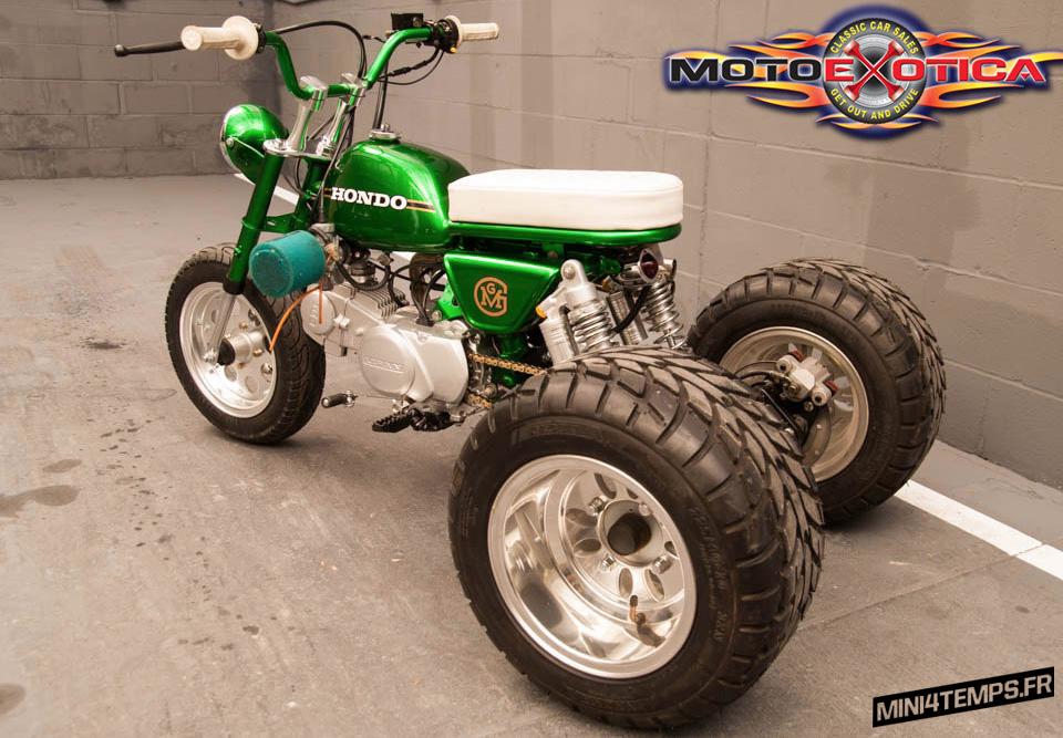 Honda Mini Trail 50 by Gas Monkey Garage - mini4temps.fr