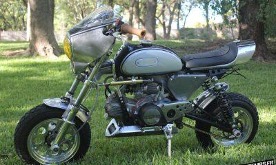 "Le Honda Monkey Z50 ""Helen"" de Davmomoto - mini4temps.fr"