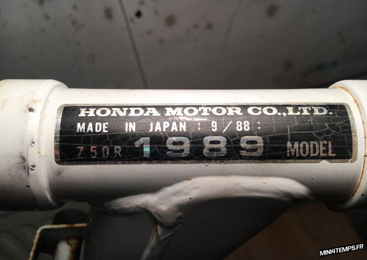 Honda Monkey Z50R Project Mini4Temps Parts - mini4temps.fr