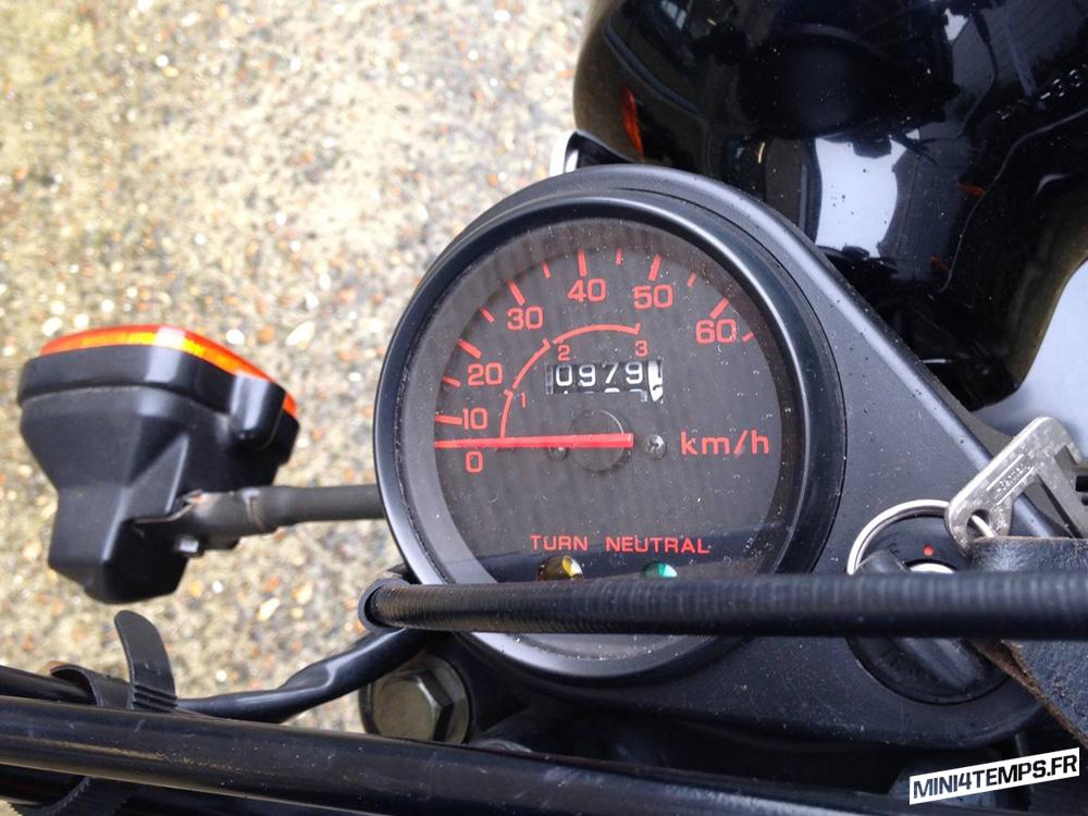 A VENDRE : Honda ZB50 état neuf - mini4temps.fr