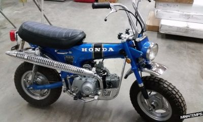 Honda Dax CT70 de 1970 - mini4temps.fr