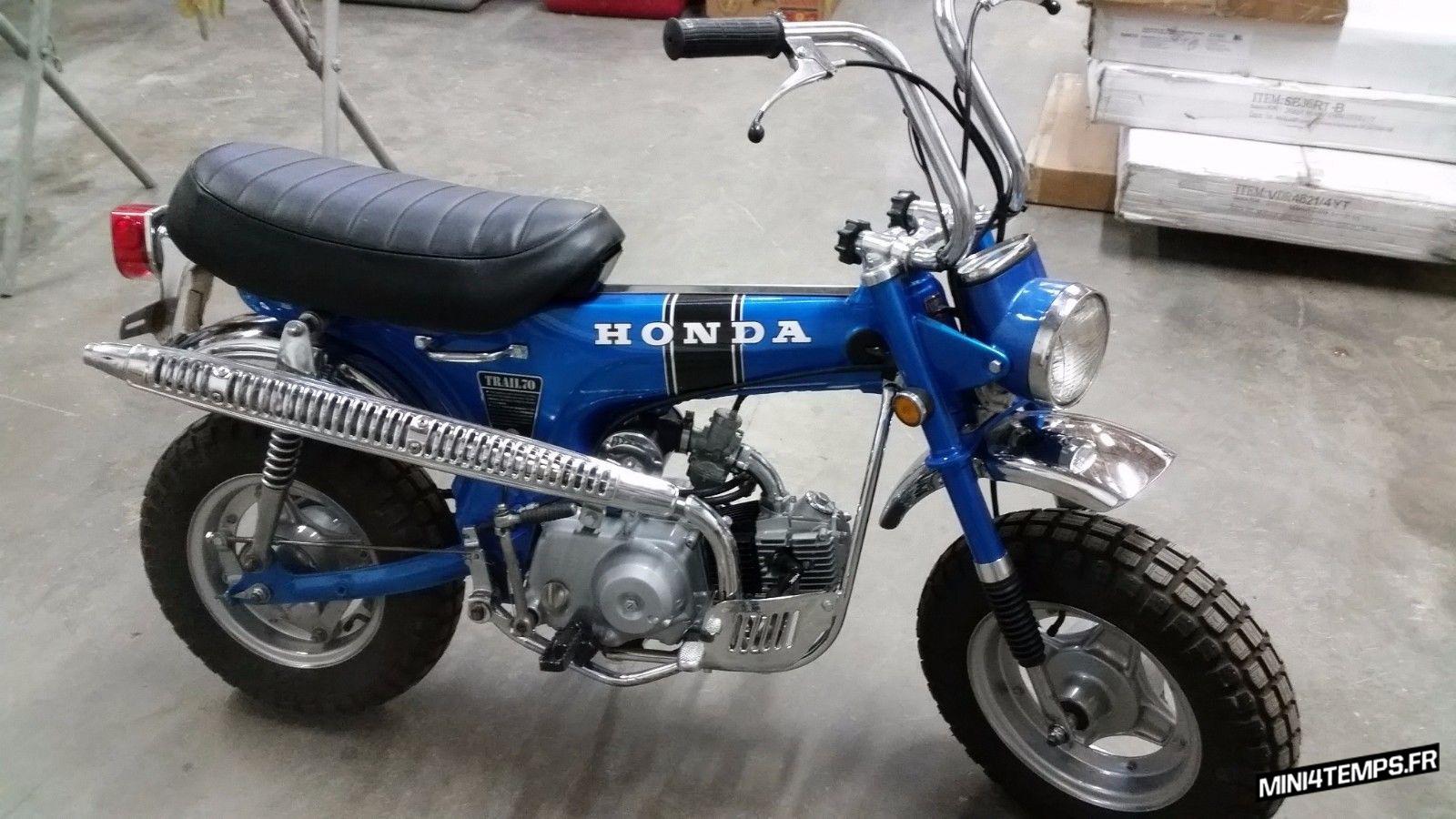 Honda Dax CT70 de 1970 - mini4temps.fr