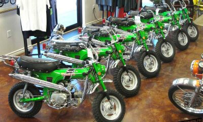 Honda Dax CT70 Emerald Green By CHP Motorsports - mini4temps.fr
