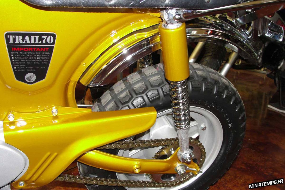 Honda Dax CT70 By CHP Motorsports - mini4temps.fr