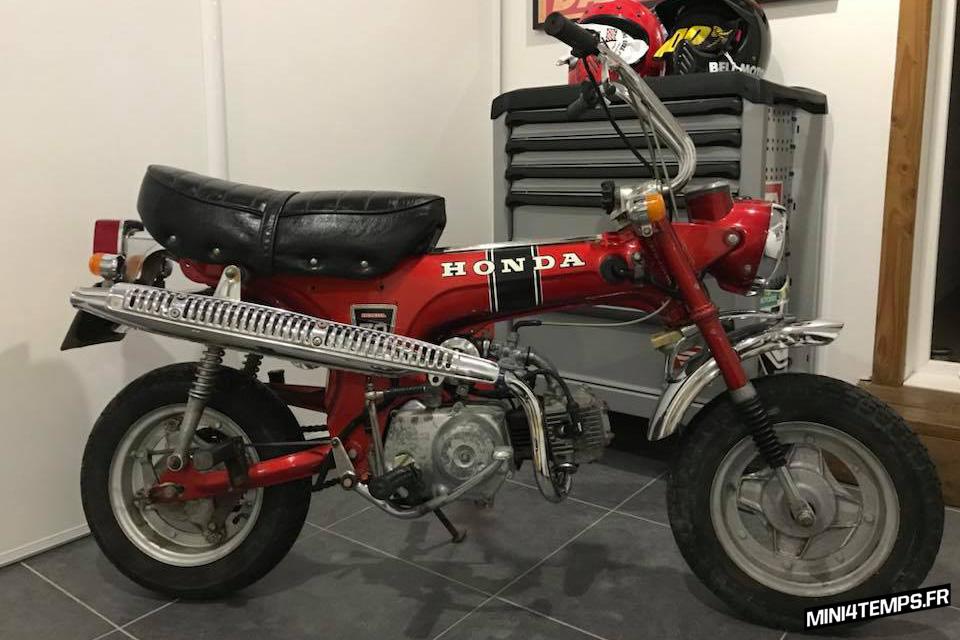 Honda Dax ST70 de 1970 - mini4temps.fr