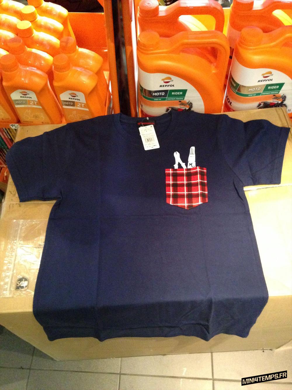 Des teeshirts Honda Monkey sont dispos ! - mini4temps.fr