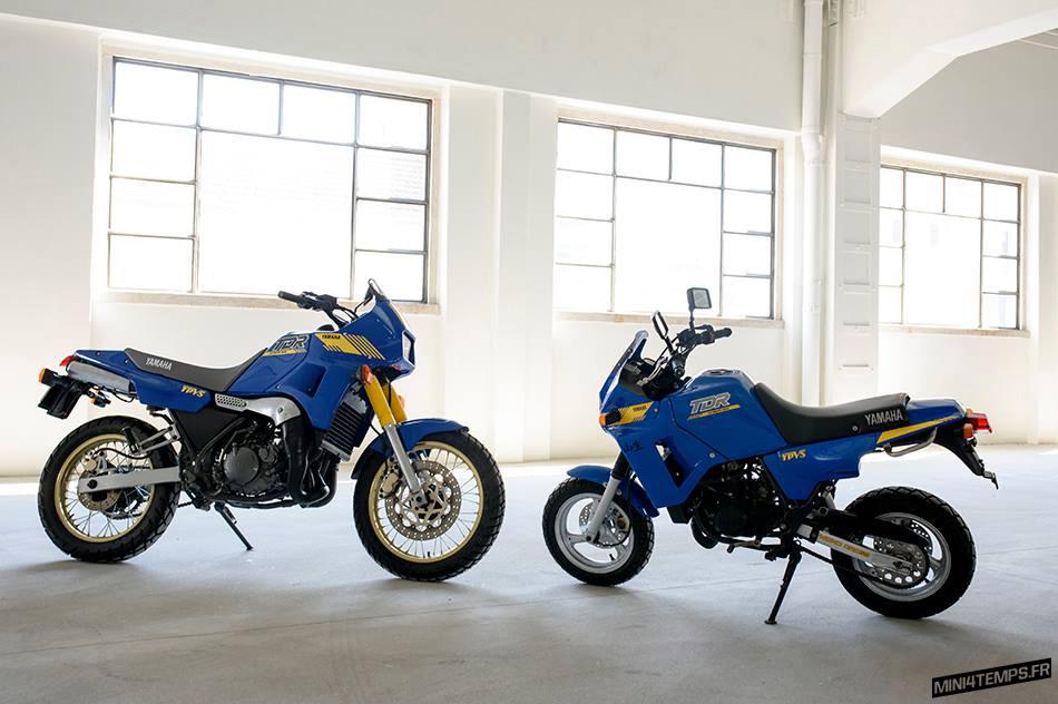 Yamaha TDR 250 et Yamaha TDR 50 - mini4temps.fr