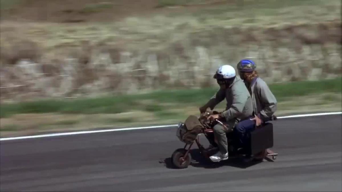 La minibike de Dumb et Dumber en vente sur ebay ! - mini4temps.fr