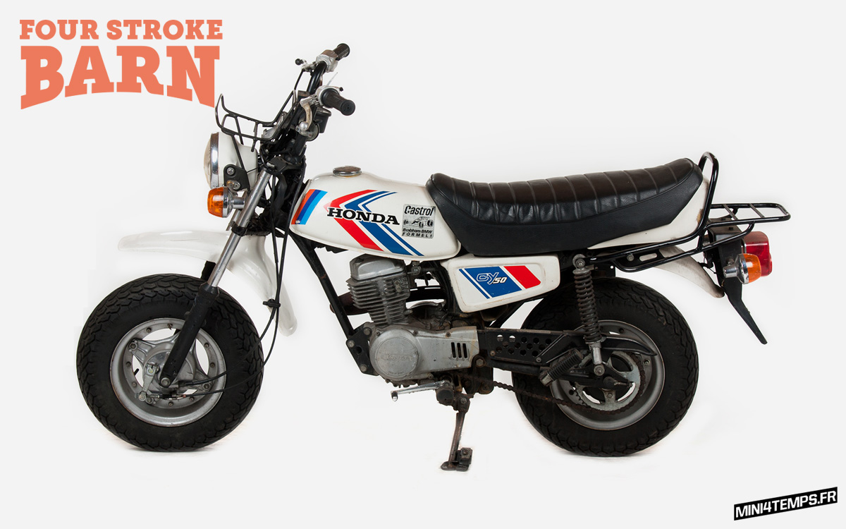 Four Stroke Barn - Honda Dax Monkey Shop in Utrecht - mini4temps.fr