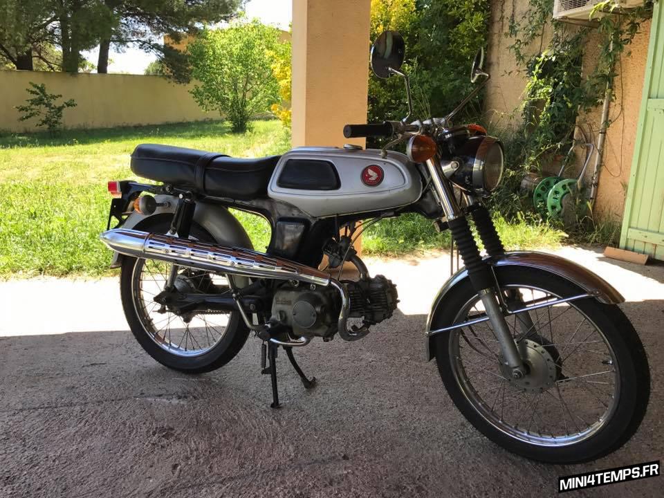 A VENDRE : Honda SS50M de 1968 Mini4temps Parts - mini4temps.fr