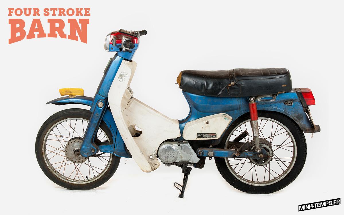 Du Honda Cub dispo : C50, C90, et Little Cub chez Four Stroke Barn - mini4temps.fr