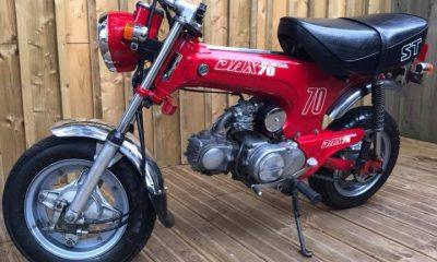 Le Honda Dax ST70 de 1988 - mini4temps.fr