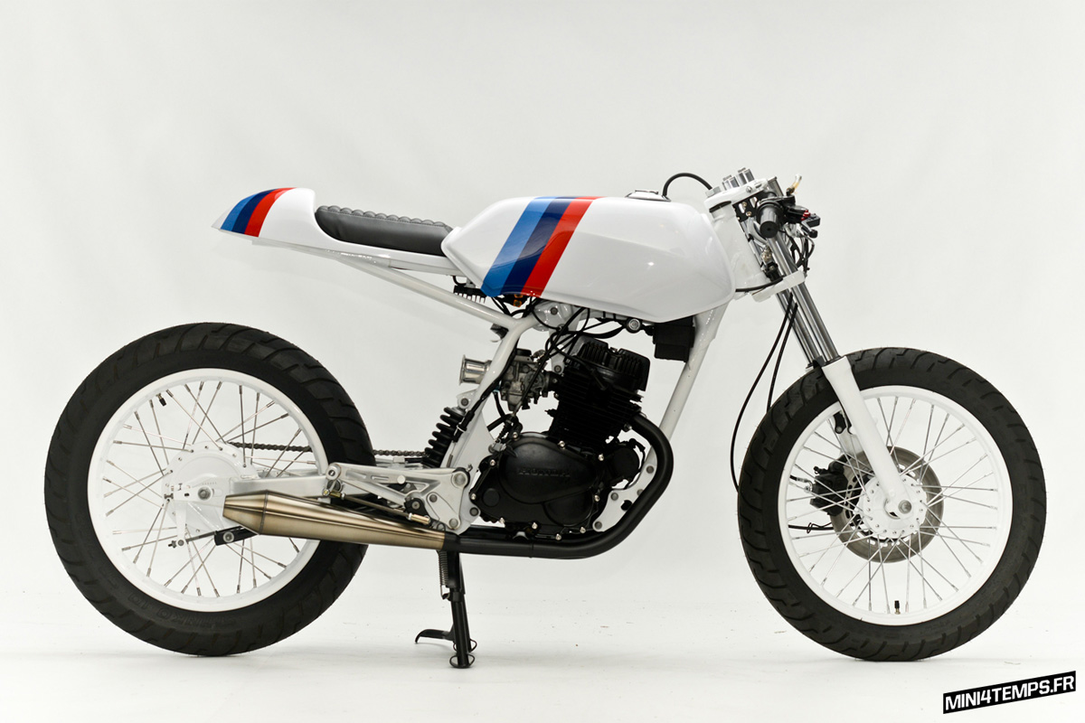 """La Honda CB 125 TT """"RS"""" by Steel Bent Customs - mini4temps.fr"""