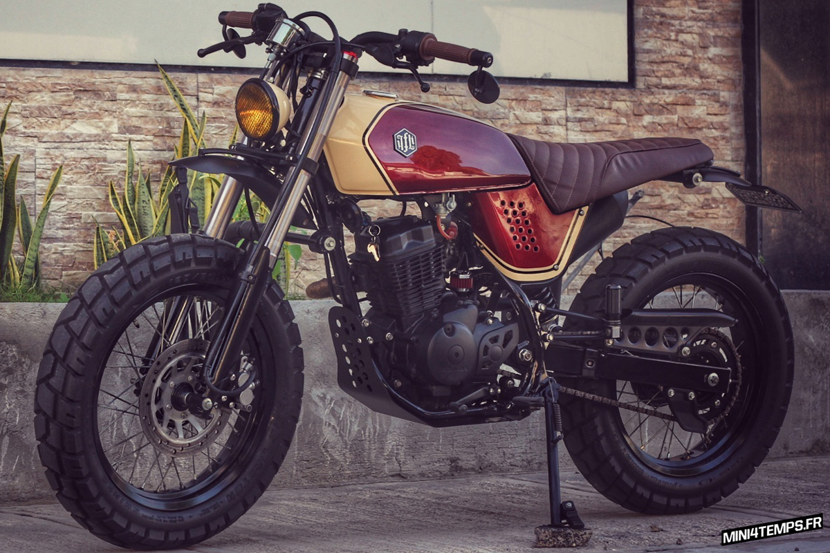 Honda XR125 Tracker by Jerry Formoso Kustoms - mini4temps.fr