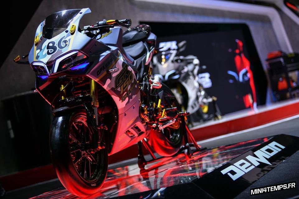 GPX Demon 150 de S.R.Y Shop&Garage - mini4temps.fr