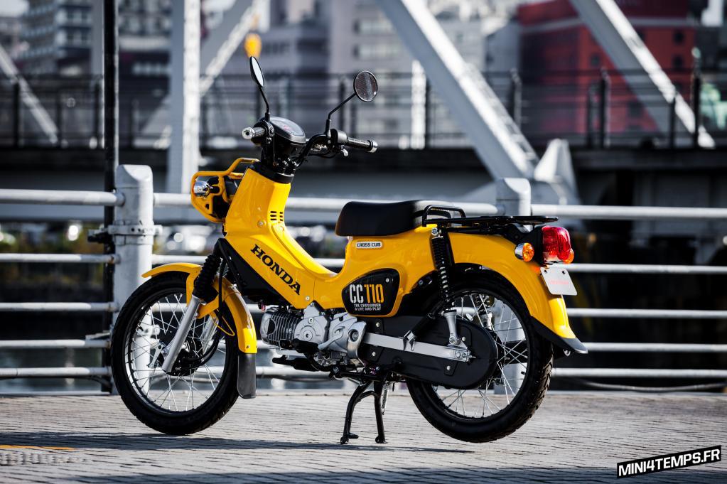 Honda Cross Cub 110cc 2018 - mini4temps.fr
