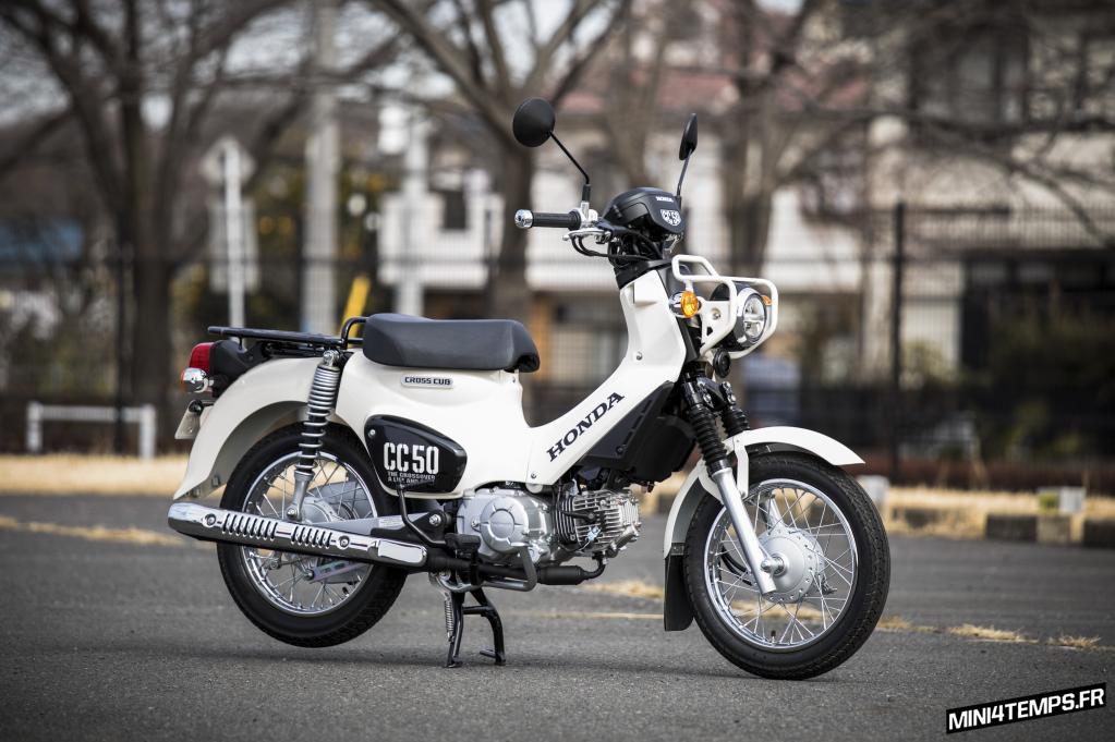 Honda Cross Cub 50cc 2018 - mini4temps.fr