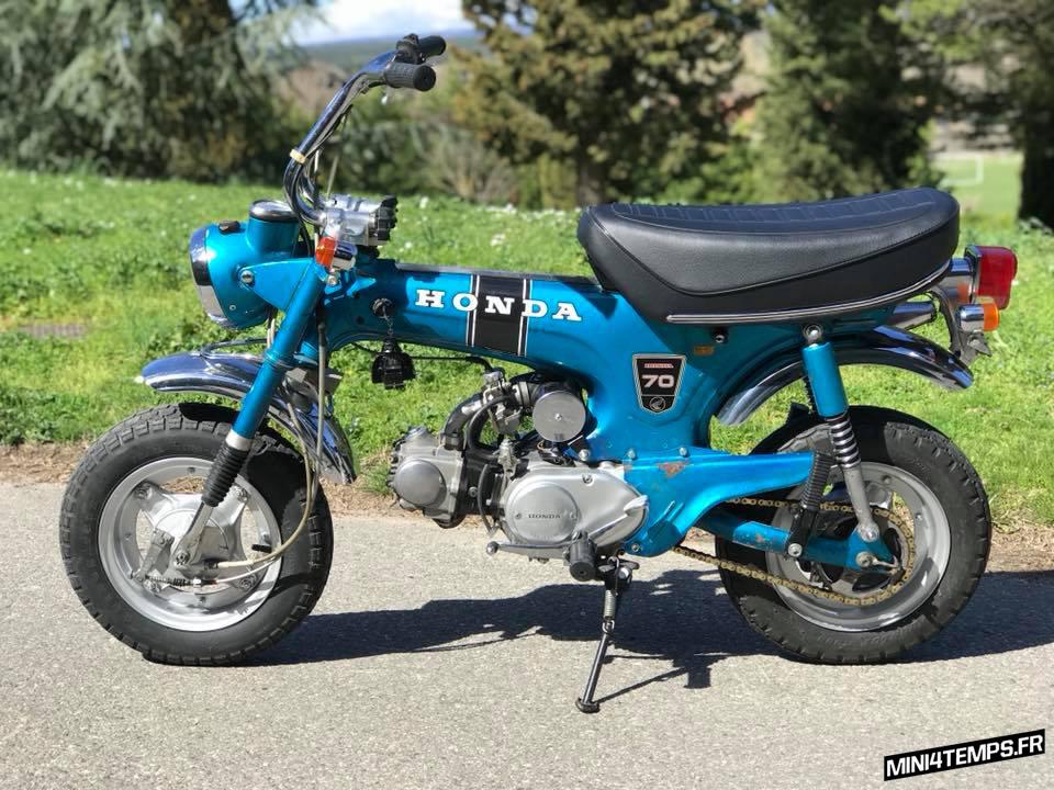 A VENDRE : Honda Dax ST70 OT 1975 - mini4temps.fr