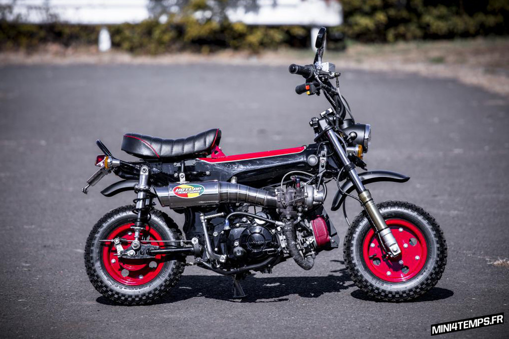 "Un Honda Dax ""CT 110 Turbo"" - mini4temps.fr"