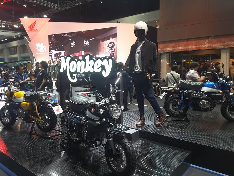 Honda Monkey 125 2018 - mini4temps.fr