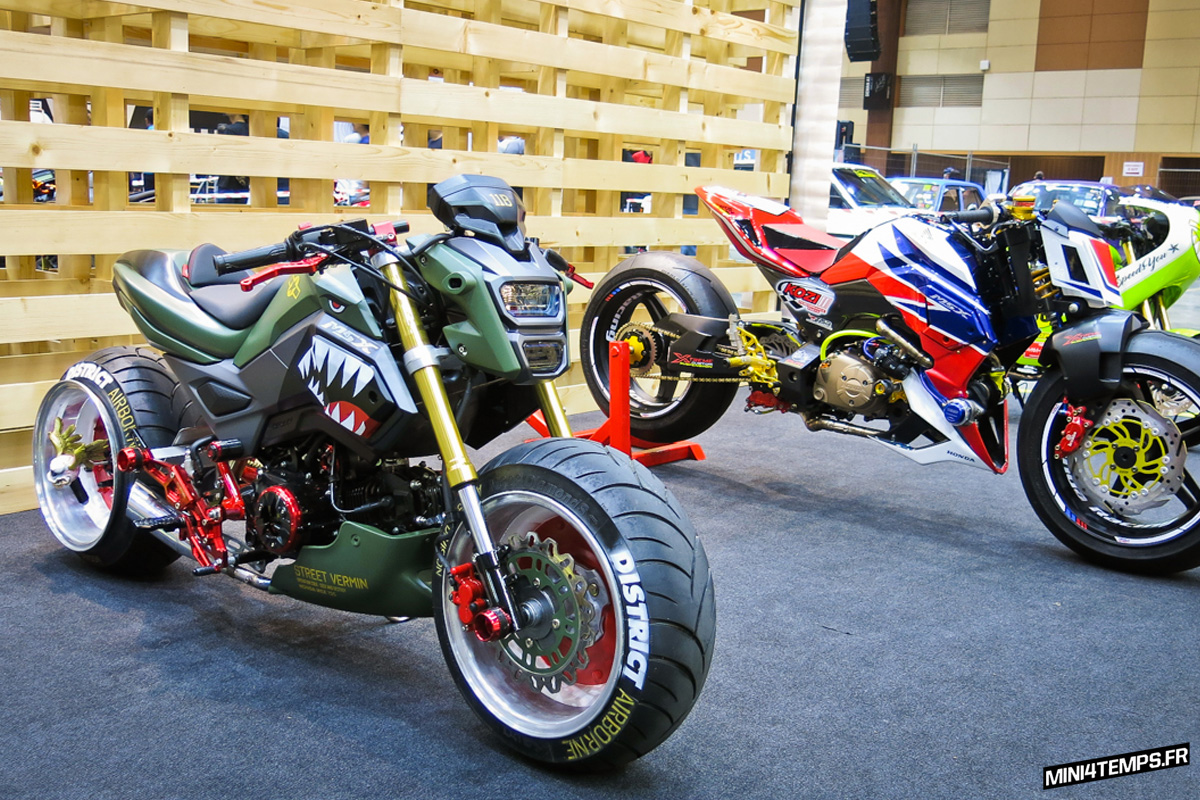 Les Honda MSX 125 de Art of Speed 2017 - mini4temps.fr