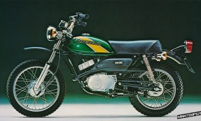 Kawasaki KM90 de 1976 - mini4temps.fr